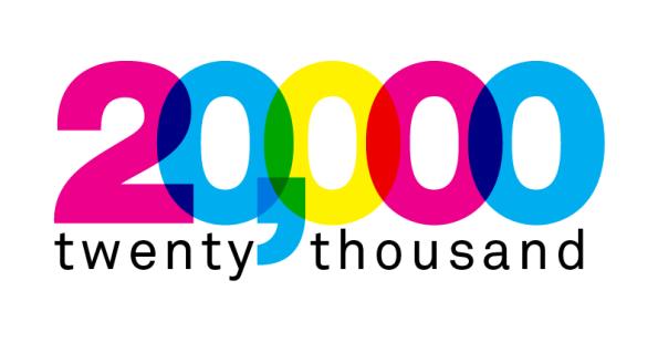 20000w