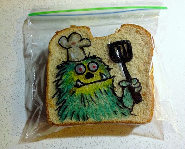 Sandwich illustration